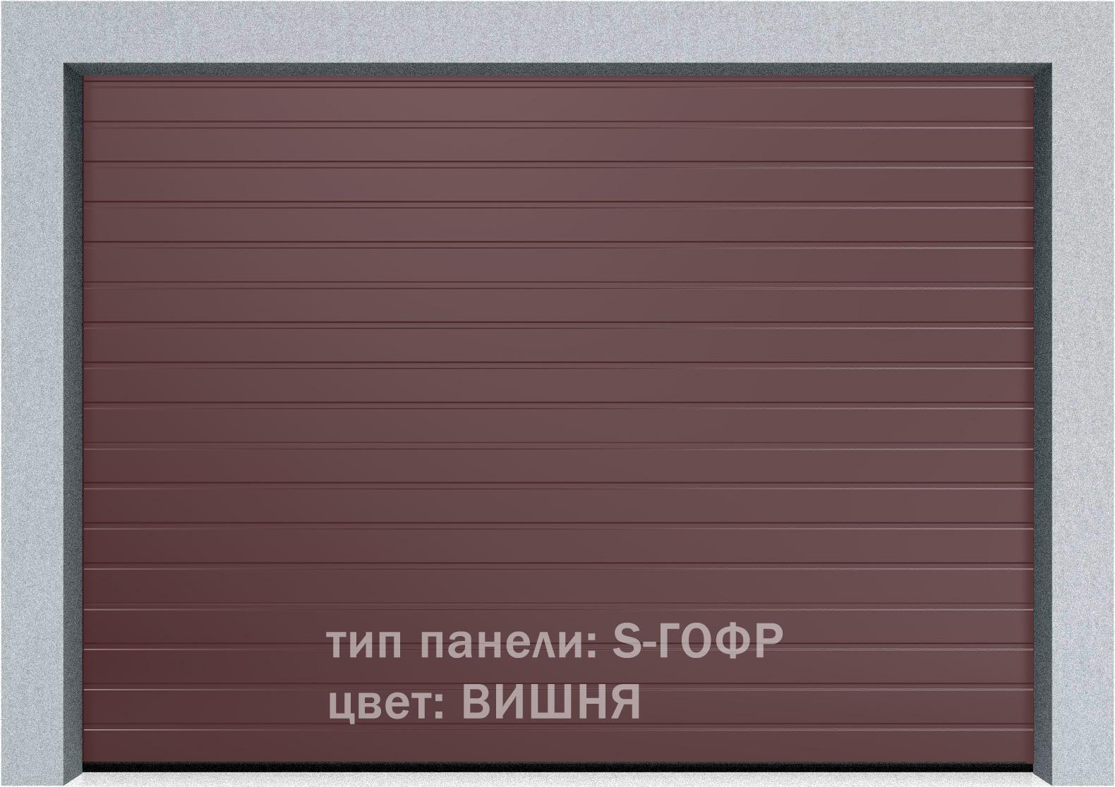 Секционные гаражные ворота Alutech Prestige 6000х3250 S-гофр, M-гофр, L-гофр цвета под дерево, торсионные пружины, фото 3