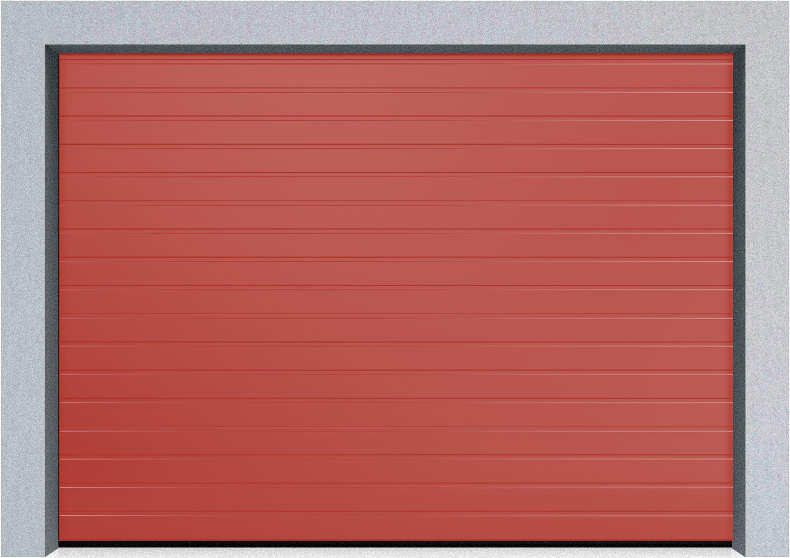 Автоматические секционные промышленные ворота Hormann SPU F42 1500х1875 S-гофр, Микроволна стандартные цвета, фото 1