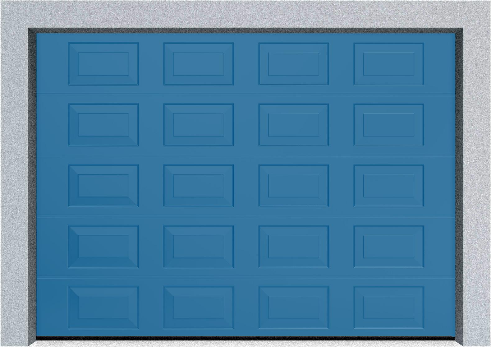 Секционные гаражные ворота DoorHan RSD01 3500x2000 Филенка стандартные цвета, пружины растяжения, фото 8