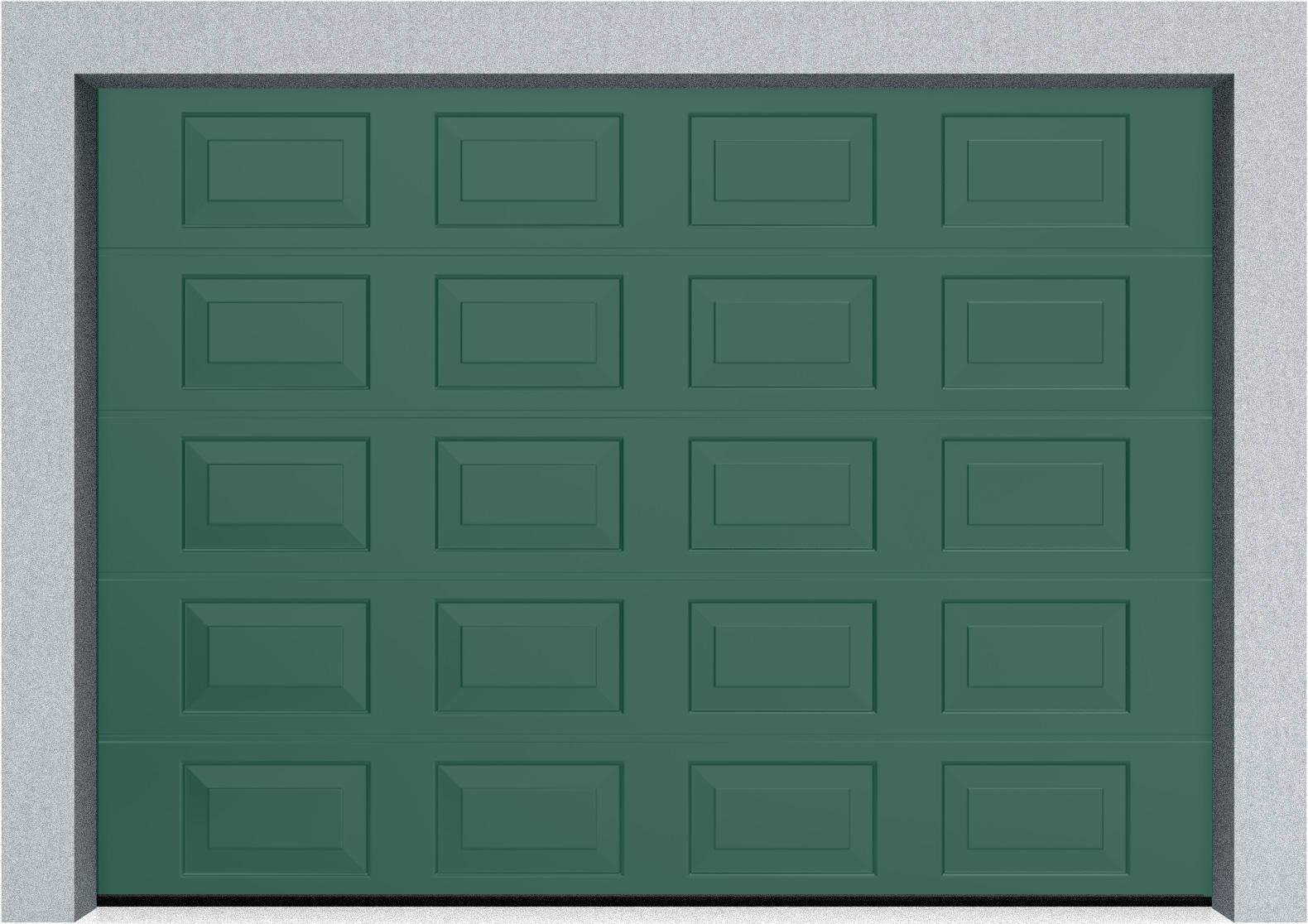 Секционные гаражные ворота DoorHan RSD01 3500x2000 Филенка стандартные цвета, пружины растяжения, фото 7