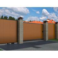 Откатные ворота с заполнением сэндвич-панелями DoorHan SLG-A 2100x2000, фото 1